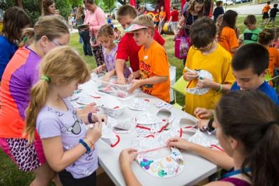 Image of children at 2016 Summer Reading Kickoff