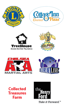 image of Summer Reading Program cash and prize donors' logos