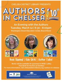 Authors in Chelsea poster