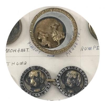image of Antique Button Exhibit
