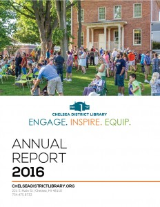 Image of 2016 Annual Report Cover