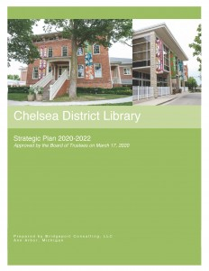 Cover page of 2020-2022 Strategic Plan
