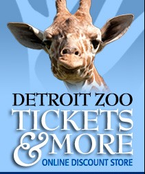 Image link for Detroit Zoo discounted tickets