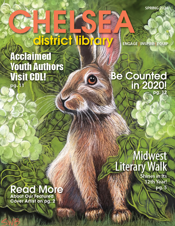 image of spring newsletter cover