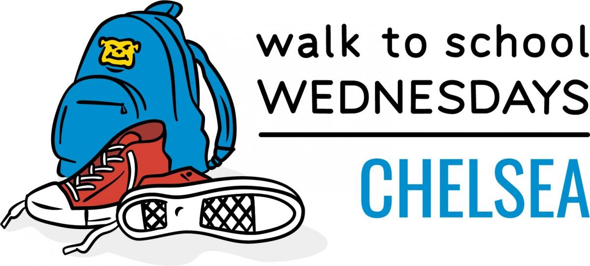 Image of Walk to School Wednesday logo