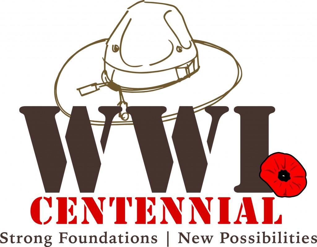 WWI Centennial logo