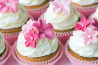 image of decorated cupcakes