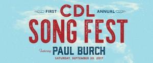 Image of CDL Song Fest logo