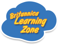 image of Britannica Learning Zone logo
