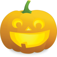 picture of smiling jack-o-lantern