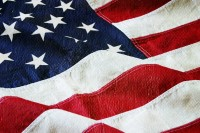 picture of part of American Flag