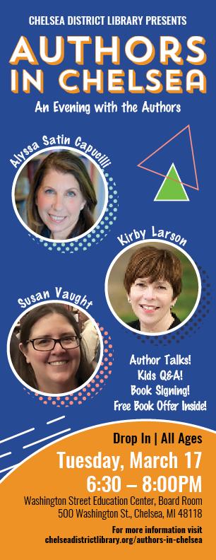 2020 Authors in Chelsea Brochure link