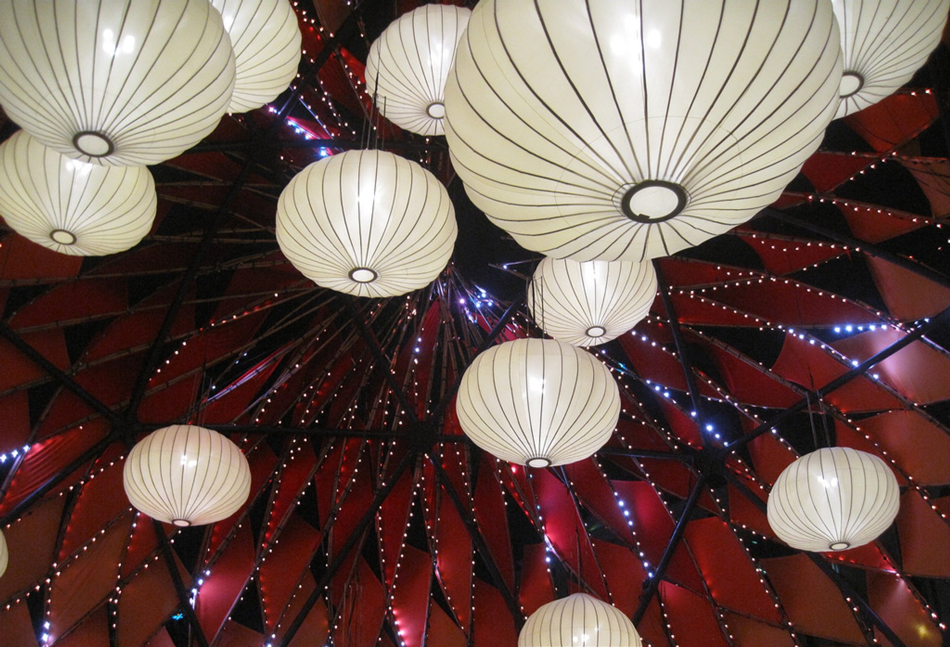 image of chinese paper lanterns