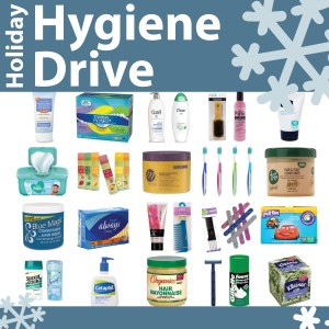 image of holiday hygiene items n