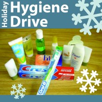 photo with hygiene items