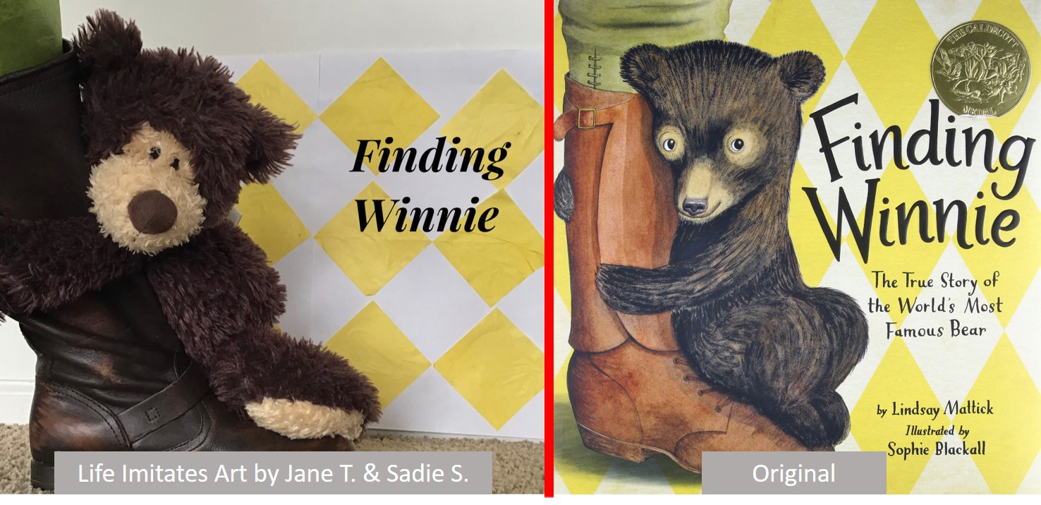 Finding Winnie Life imitates Art Book Cover