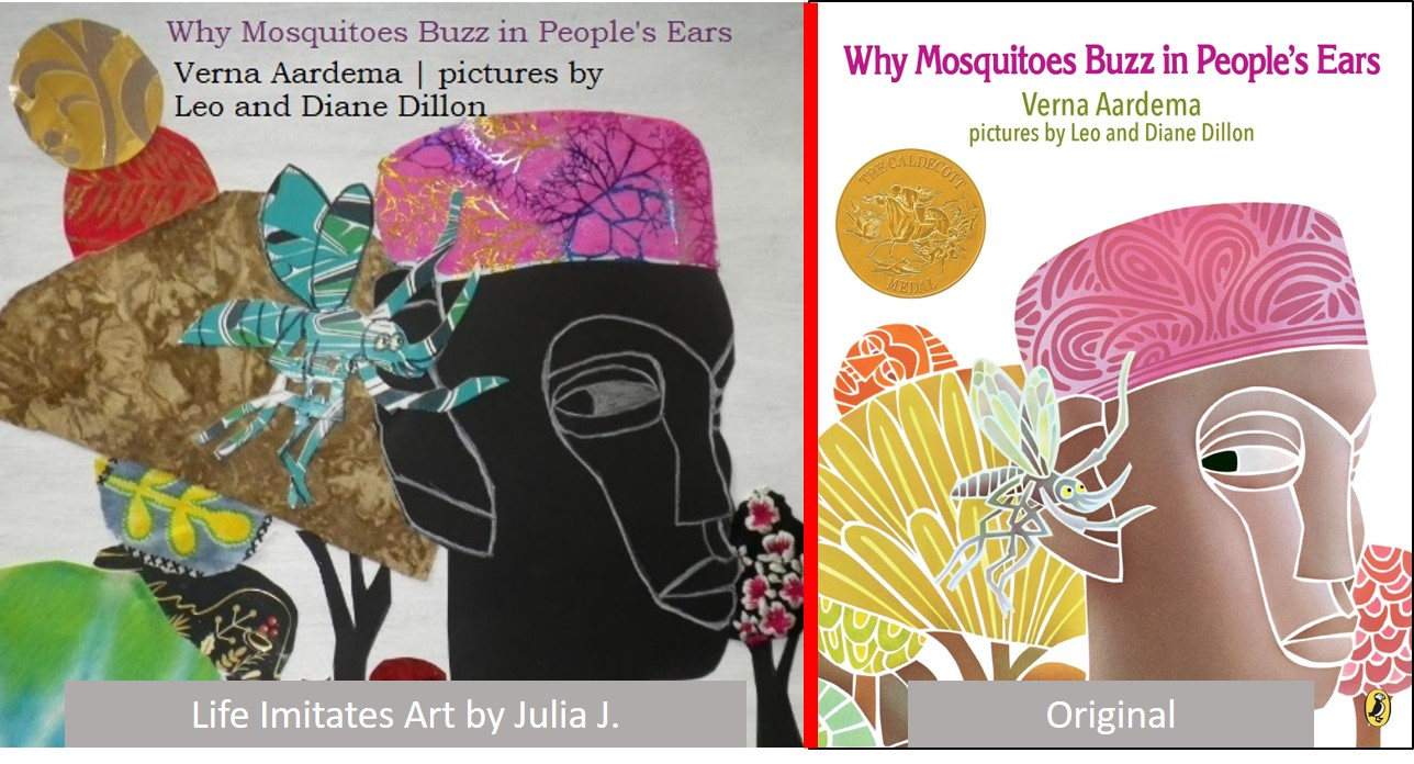 Why Mosquitos Buzz in People's ears life Imitates Art book cover