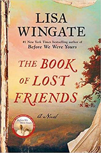 book cover of The book of Lost Friends