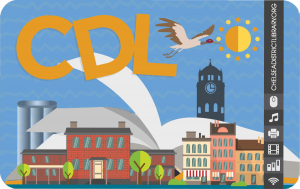image of CDL library card