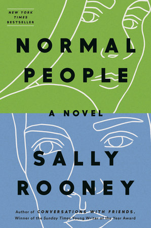 image of Normal People book cover by Sally Rooney