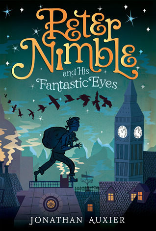 Book cover of Peter Nimble & the fantastic eyes