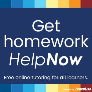 Logo for Brainfuse Homework HelpNow
