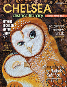 spring newsletter front cover image