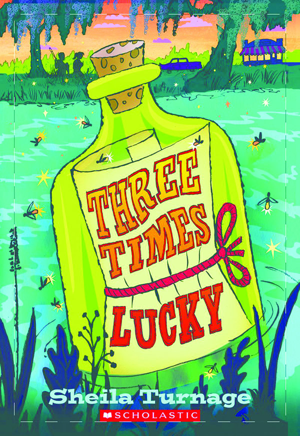 Image of book cover for Three Times Lucky