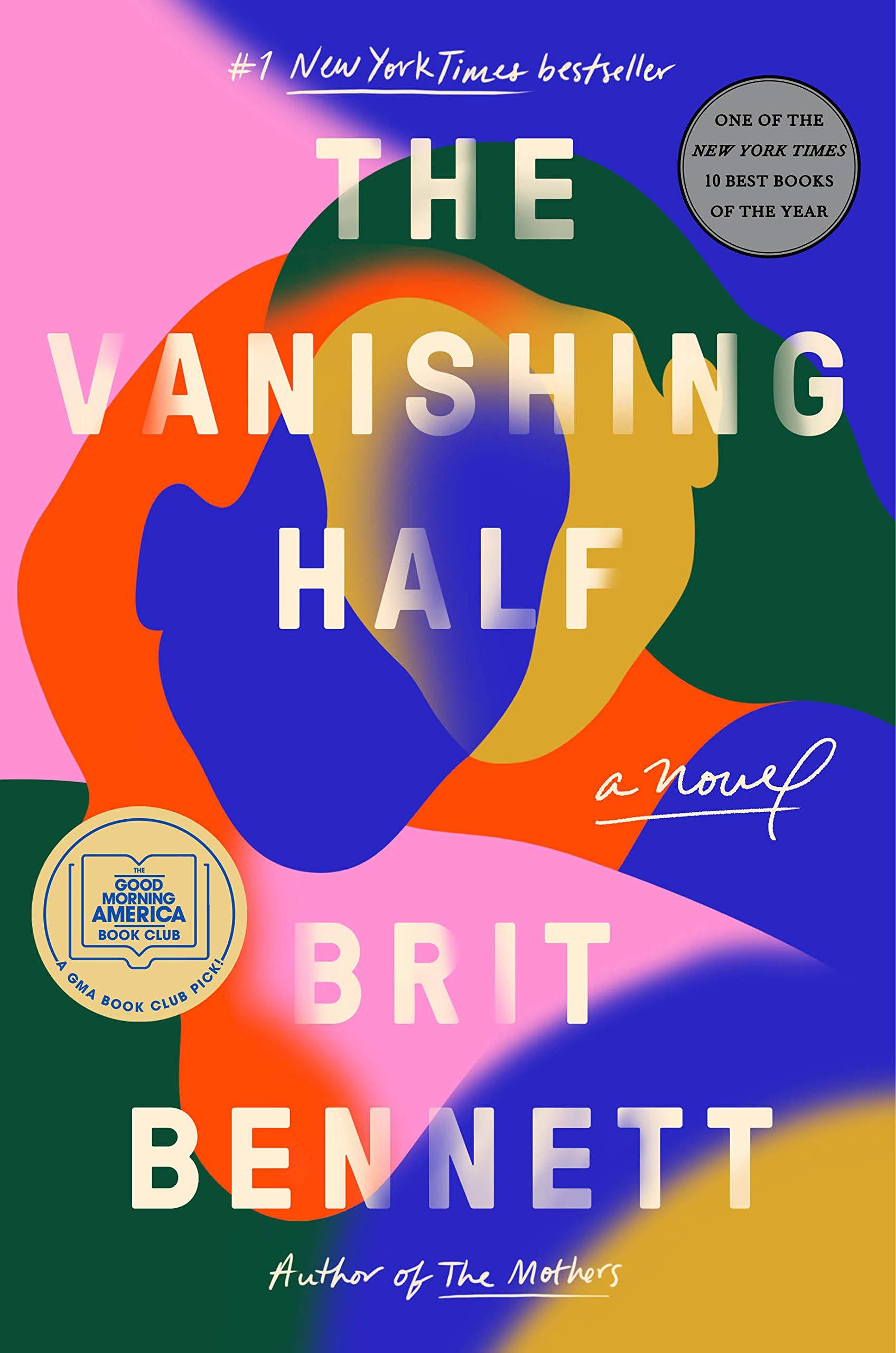 book cover of The vanishing half