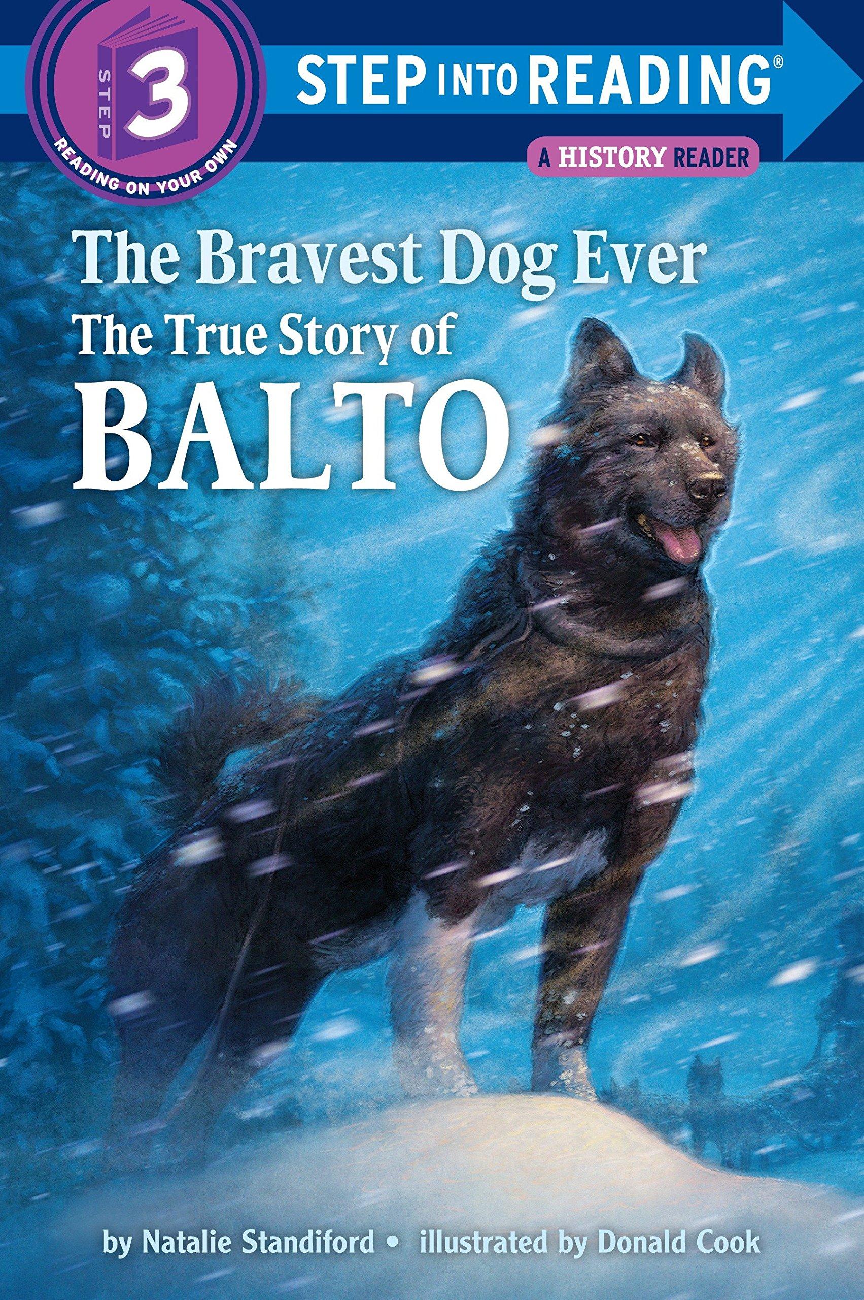 Book Cover of Balto, the Bravest Dog Ever
