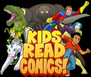 logo image for Kids Read Comics Program