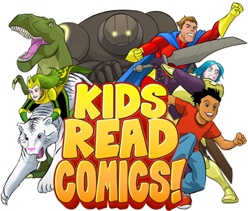 logo image for Kids Read Comics Program