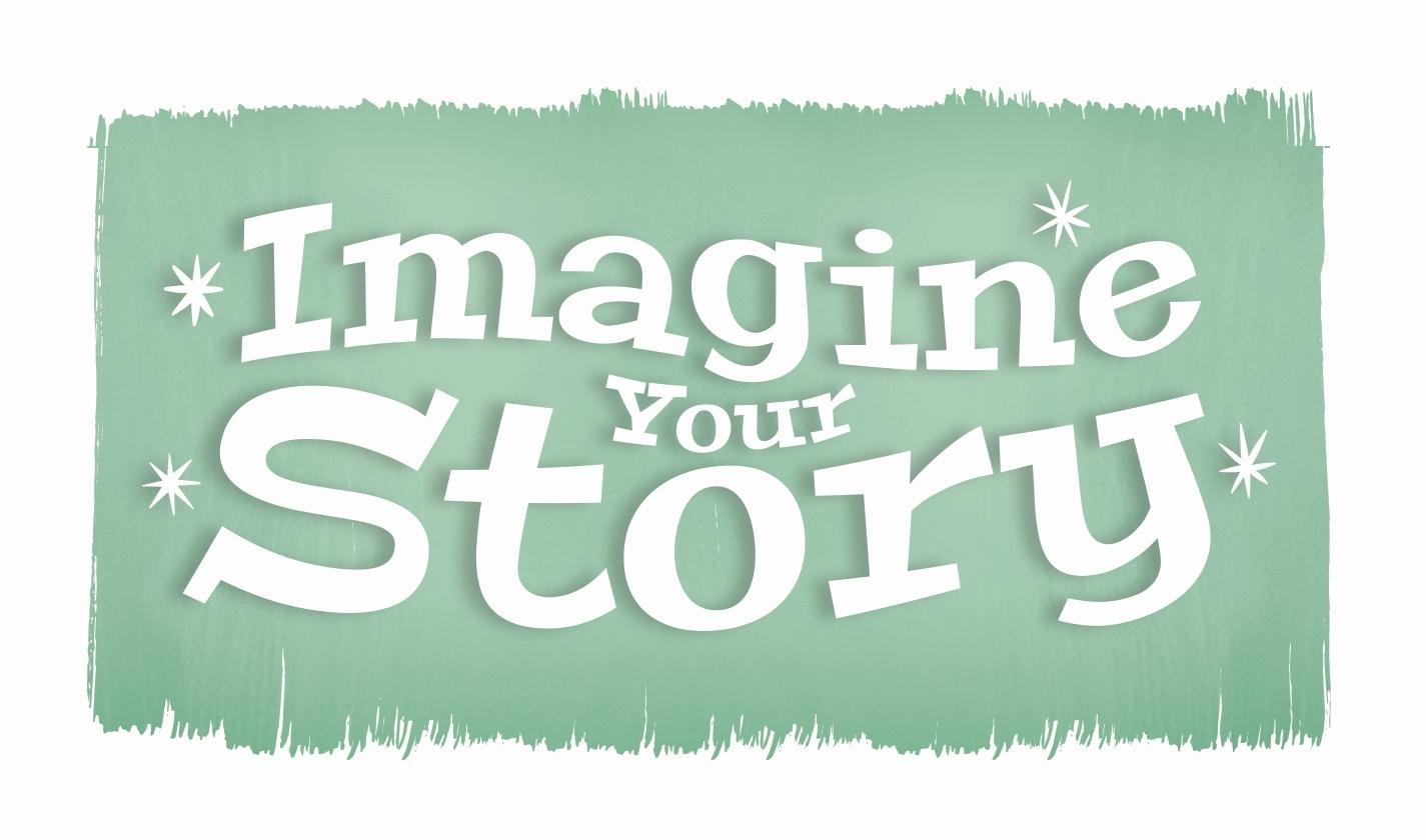 logo for Imagine Your Story Summer Reading program