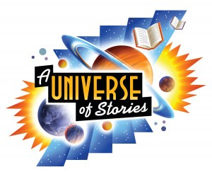A universe of stories logo